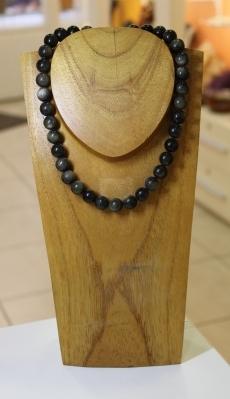 Collier en Obsidienne Miel